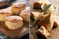 The image for English Scones and American Biscuits